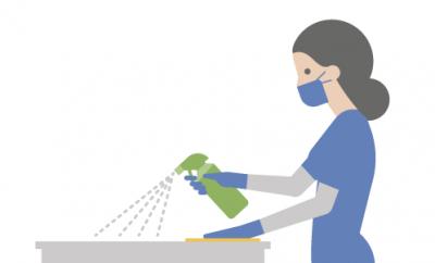 Unsere COVID-Reinigungs- und Wäschereiprotokolle